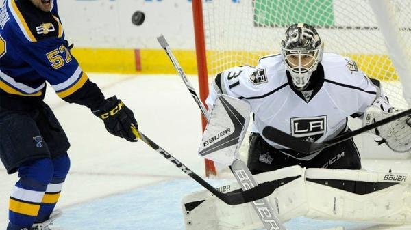 Kings Goaltender Peter Budaj Is Making The Most Of A Golden Opportunity