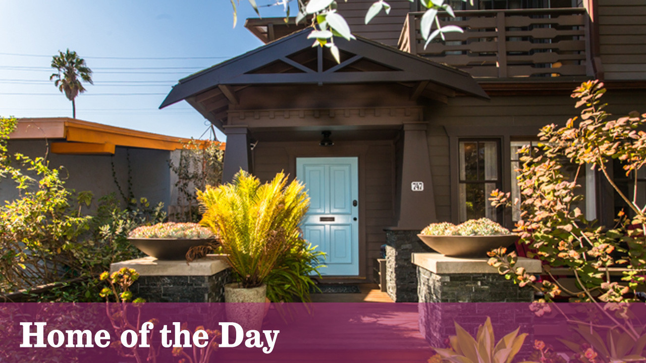 craftsman offers an update on a traditional look in venice la times