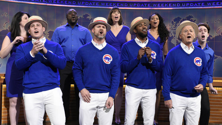 Cubs' World Series victory tour