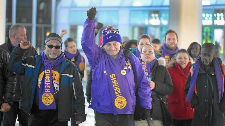 Workers to strike Tuesday at O'Hare and other Chicago sites – Chicago Tribune