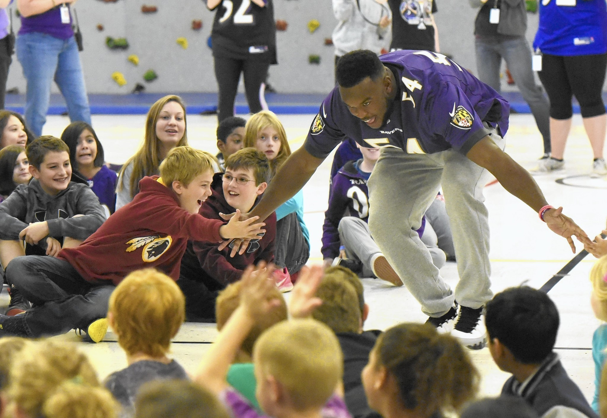 Zach orr retires due to congenital neckspine condition nfl com - Related Zach Orr Articles Robert Moton Kids Stay Fit With Help From Ravens
