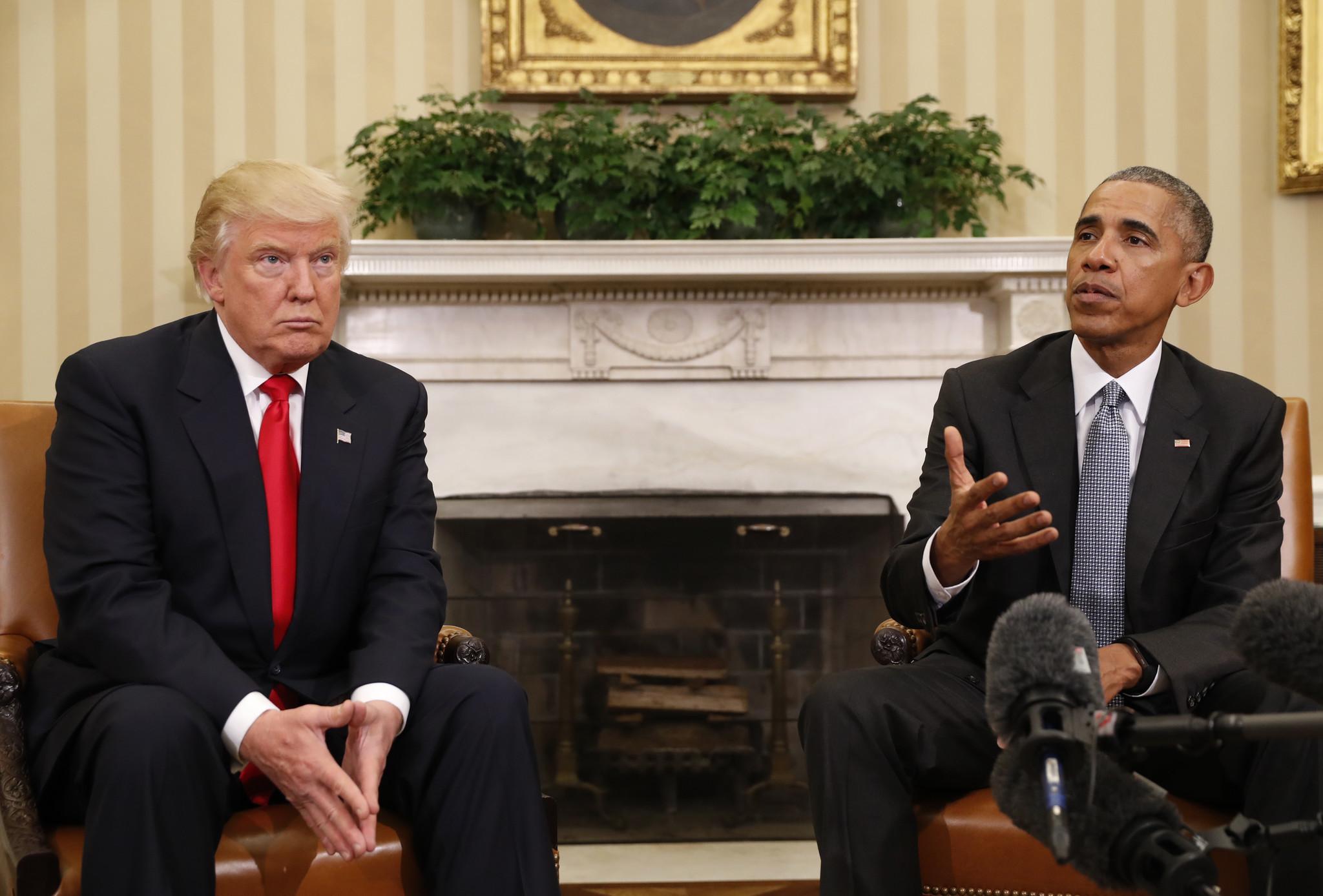 obama says odds of trump win were u0027not that unusual u0027 chicago tribune