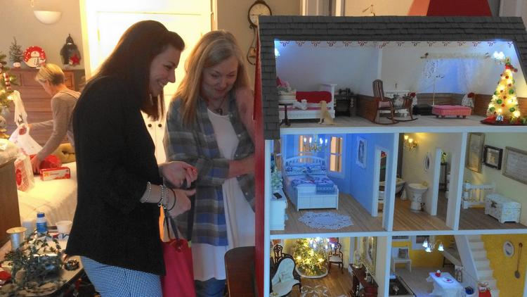 Lifetime of memories: Dollhouse project helps hospice patient leave legacy