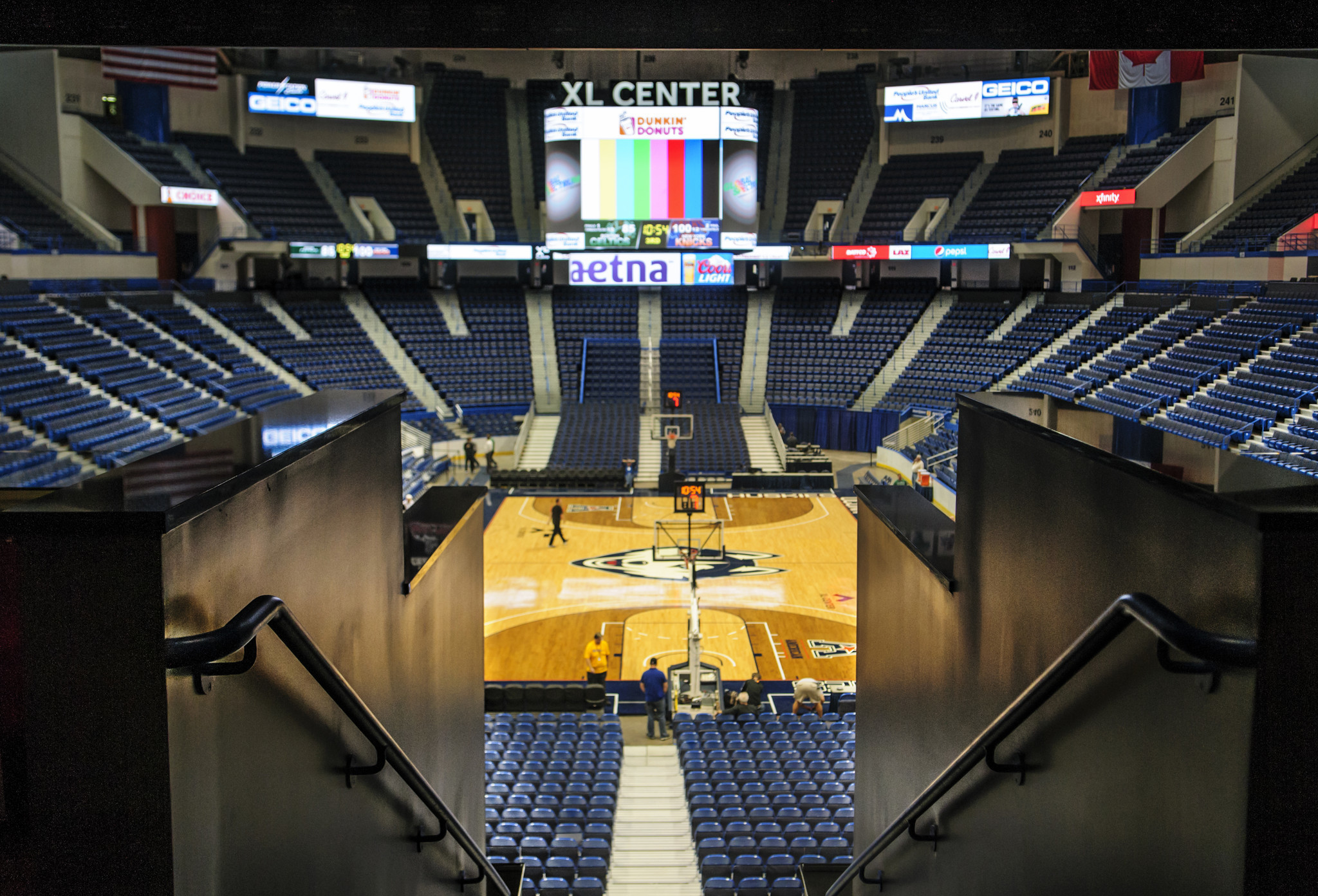 Xl center renovation updates hartford wolf pack - Xl Center Renovations Draw Support But Money For Work Still A Question Hartford Courant