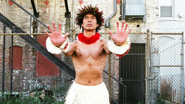 Keo Woolford performs Robert Cazimero's Hula choreography in 2007. (Christopher Komuro / East West Players)