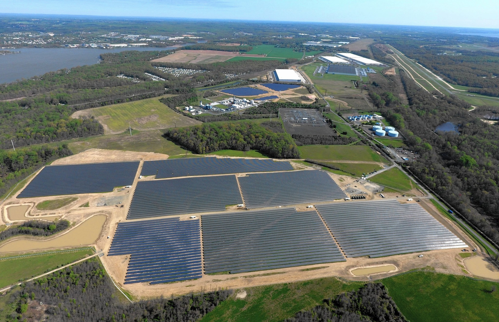 Perryman Solar Farm Offsets Use Of Fossil Fuels To