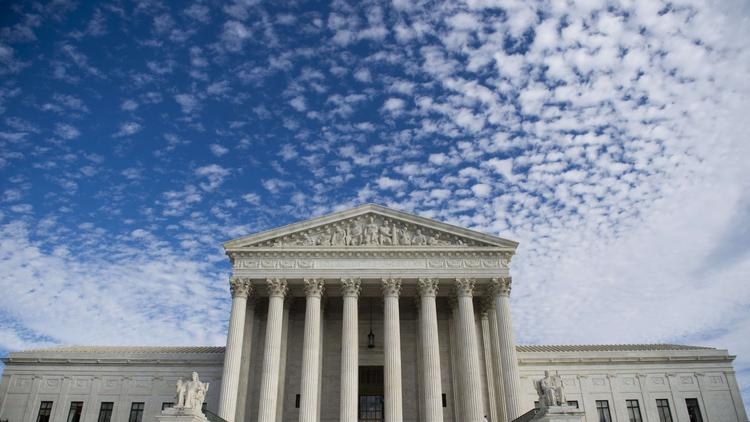 The Supreme Court building in Washington. (Saul Loeb / AFP-Getty Images)