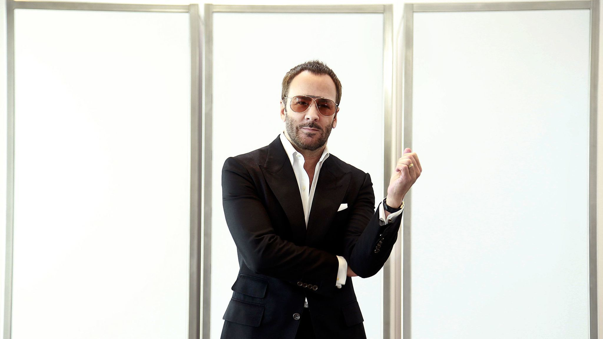 Fashion designer tom ford at the hollywood something or other awards - Tom Ford Crafts A Layered Thriller Within A Thriller With Nocturnal Animals La Times