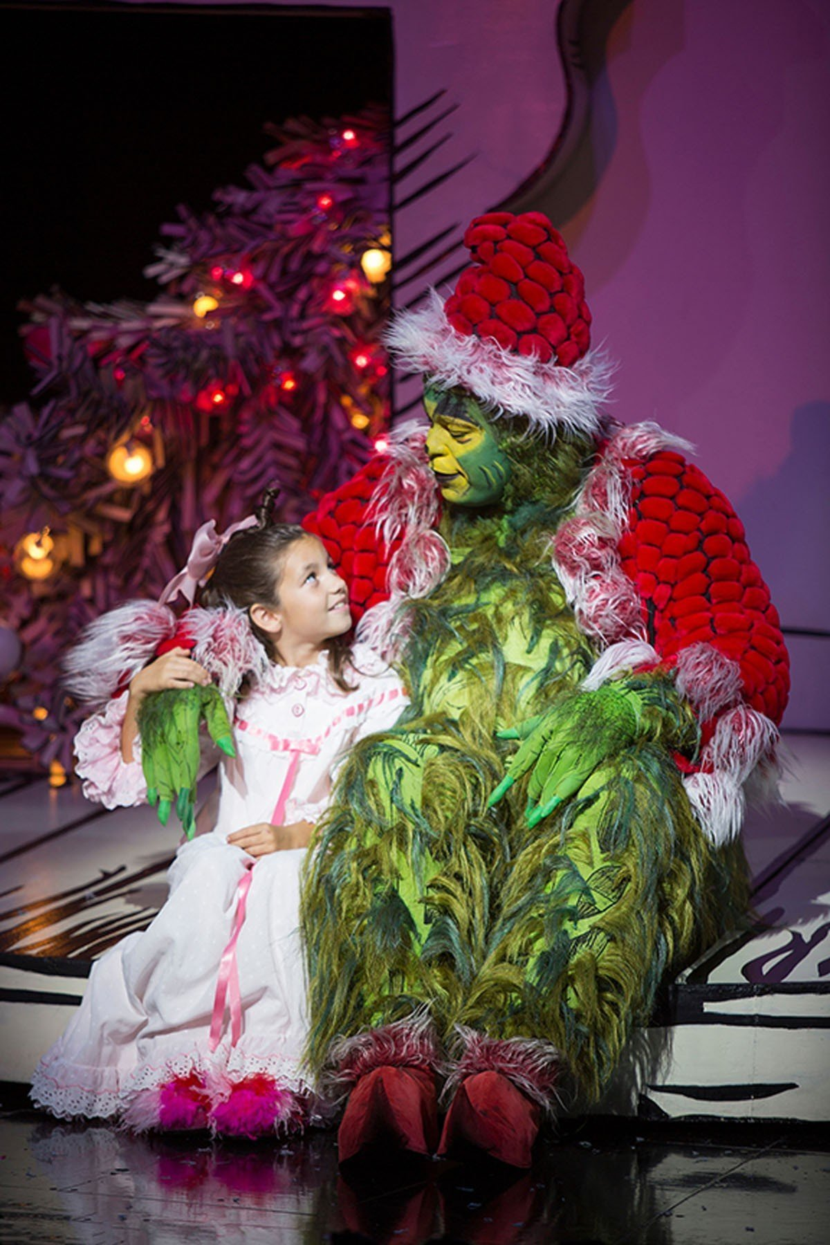 "Dr. Seuss' ""How the Grinch Stole Christmas"" is an annual tradition at The Old Globe."