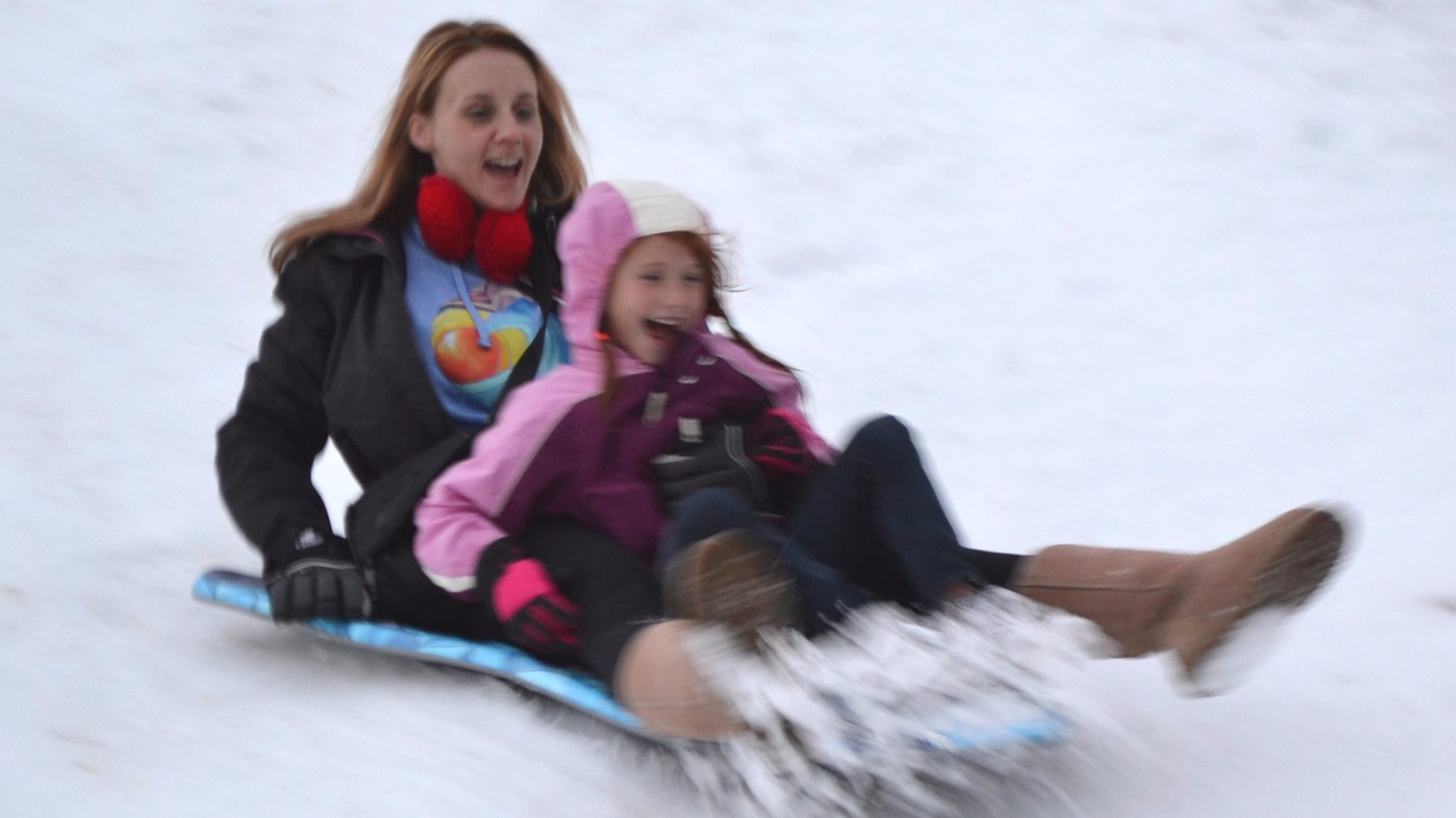"""Snow in the Park"" returns to Rancho Bernardo Community Park on Saturday."
