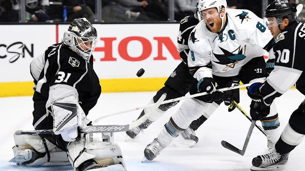 Kings' Five-game Winning Streak Ends With 4-1 Loss To The Sharks