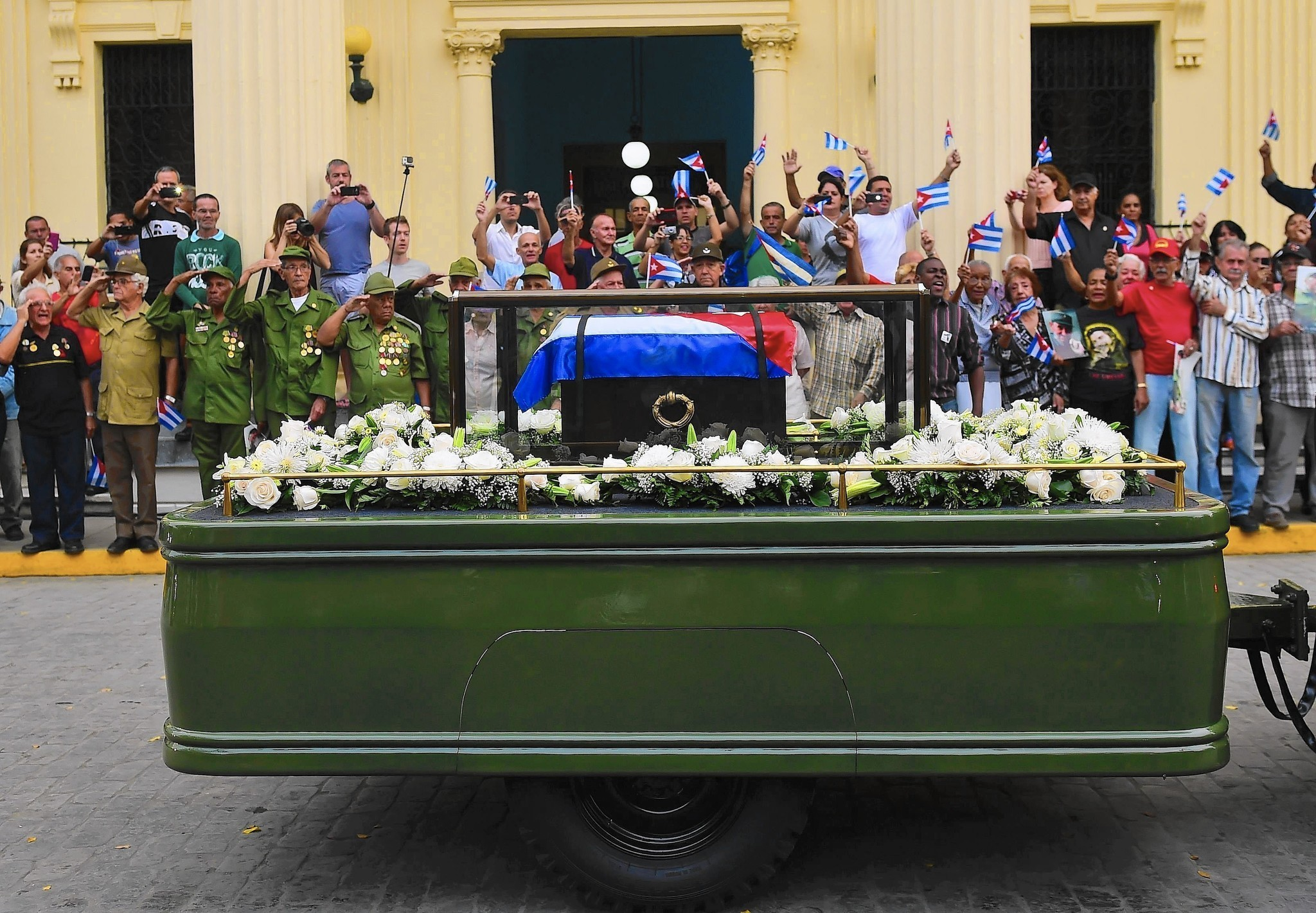 The Early and Dictatorship of Cuban Leader Fidel Castro