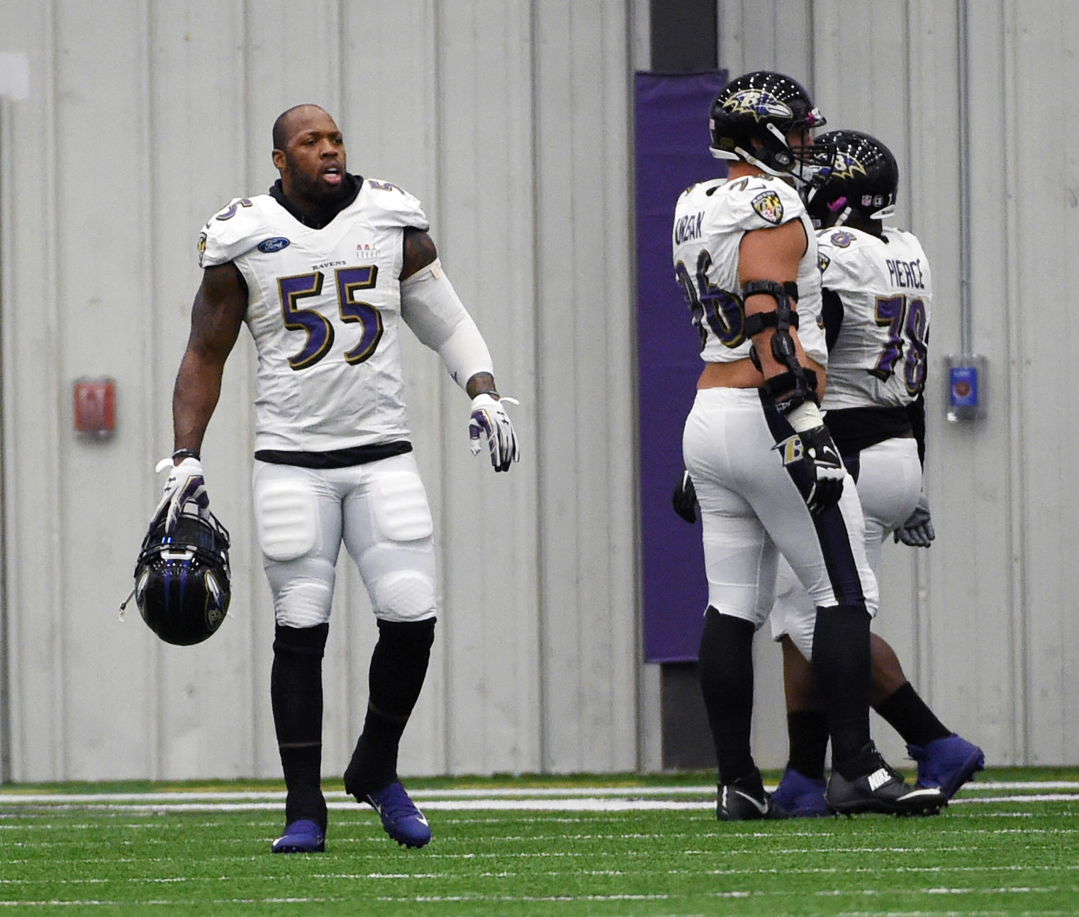 Terrell Suggs has been most menacing in fourth quarters