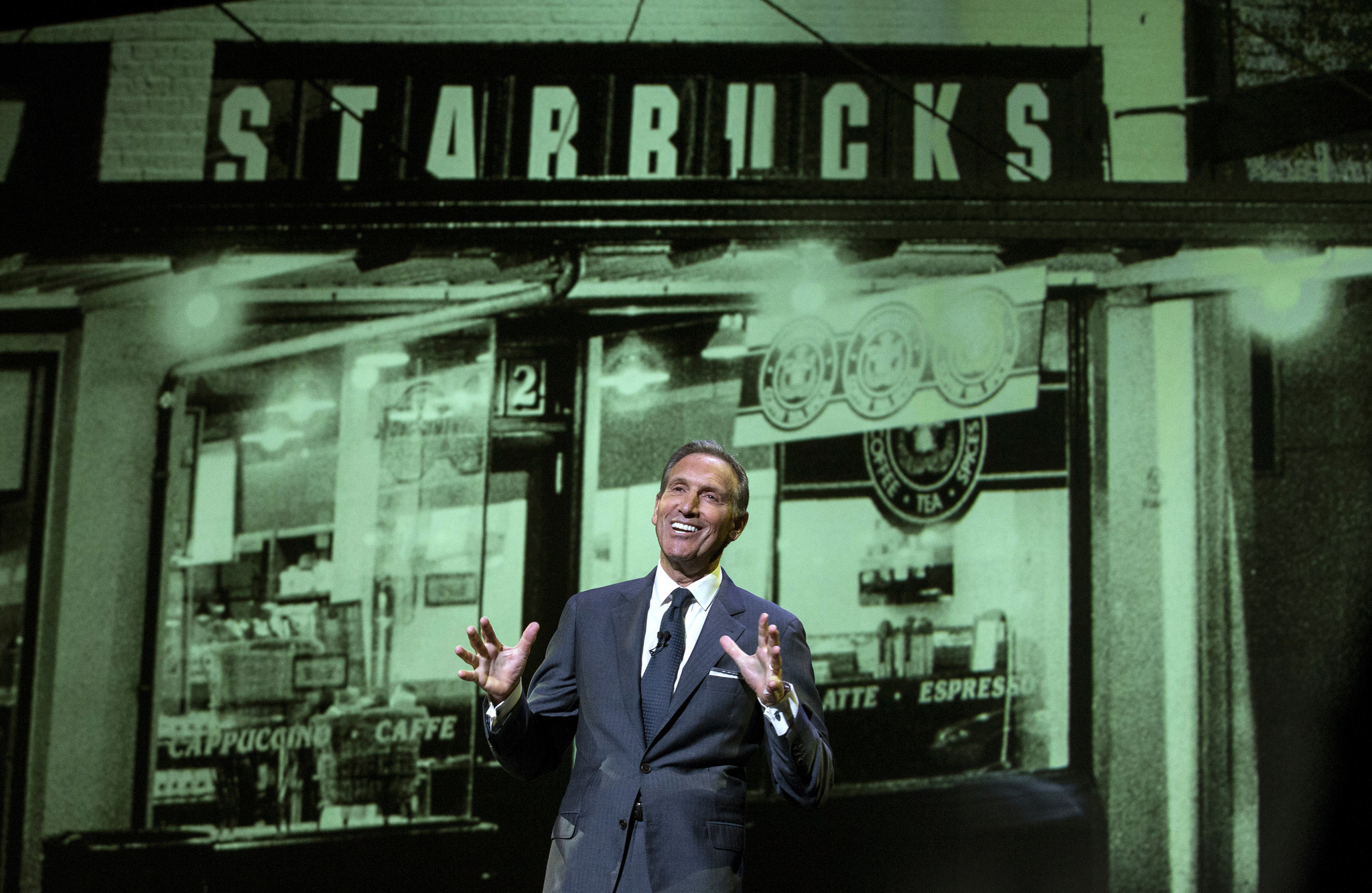 howard schultz and the starbucks company Starbucks' howard schultz is stepping down as executive chairman of the coffee company he helped transform into a global brand, and says public service may be in his future schultz said he is.