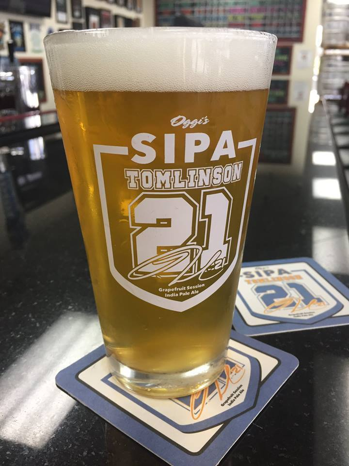 The Tomlinson 21 Session IPA.