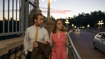 "Ryan Gosling and Emma stone in Lionsgate's ""La La Land."" (Lionsgate)"