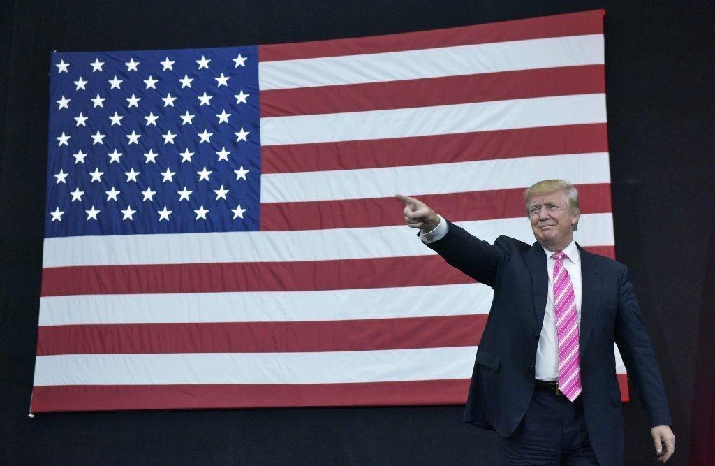 Donald Trump Ohio rally.