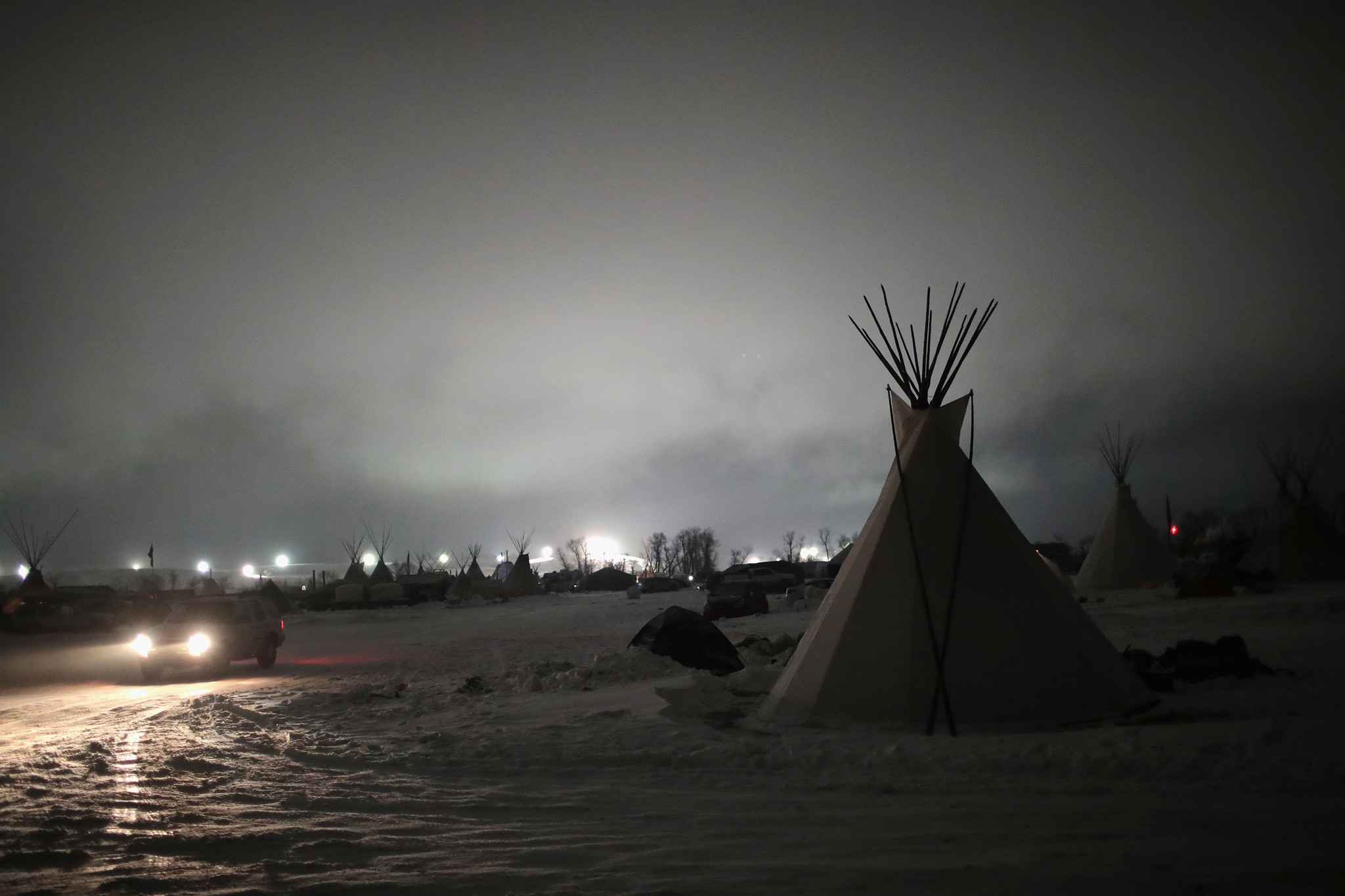 next test for pipeline protesters  the brutal north dakota