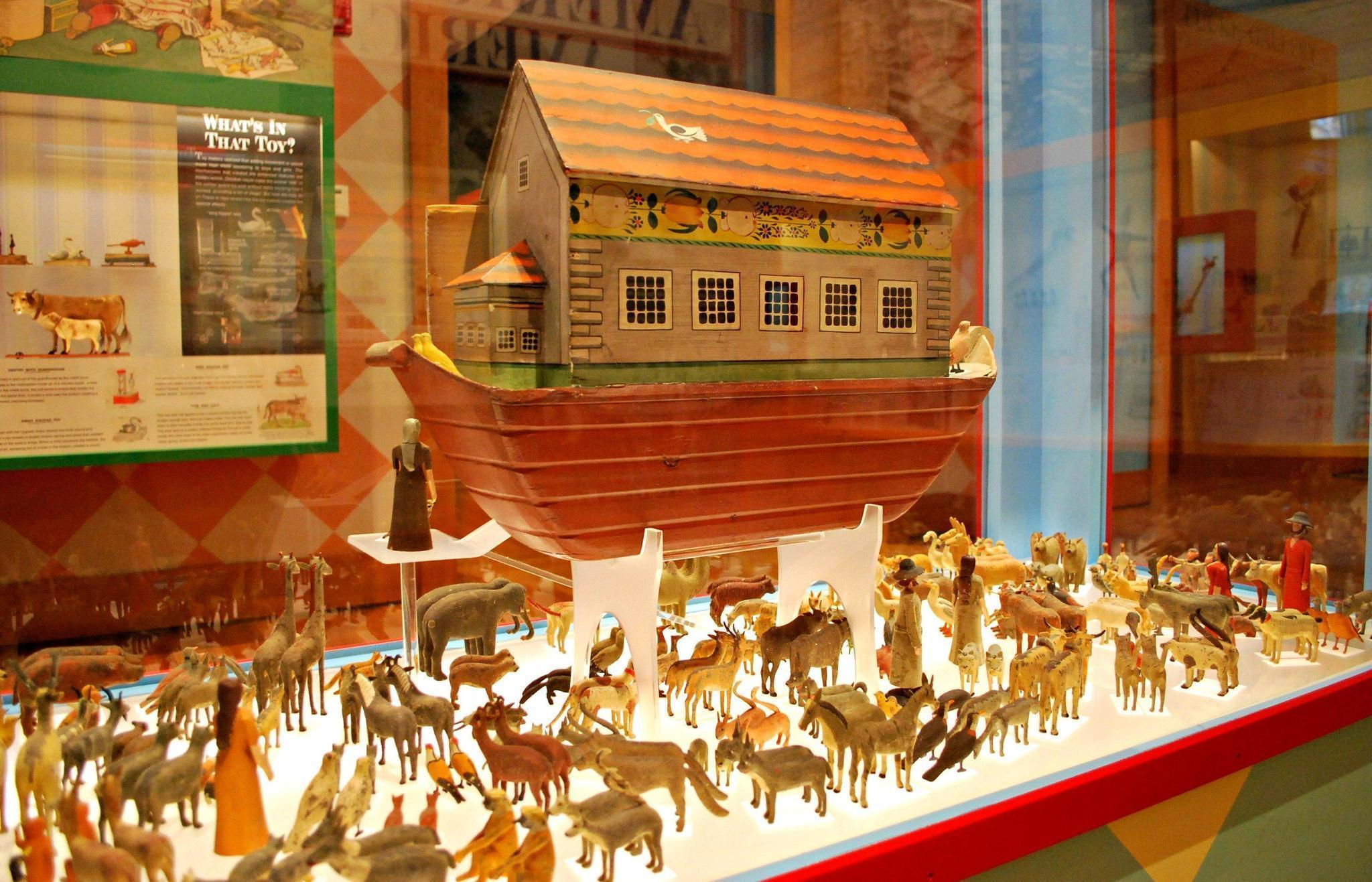Historic toys tell a different story at Art Museums The Virginia