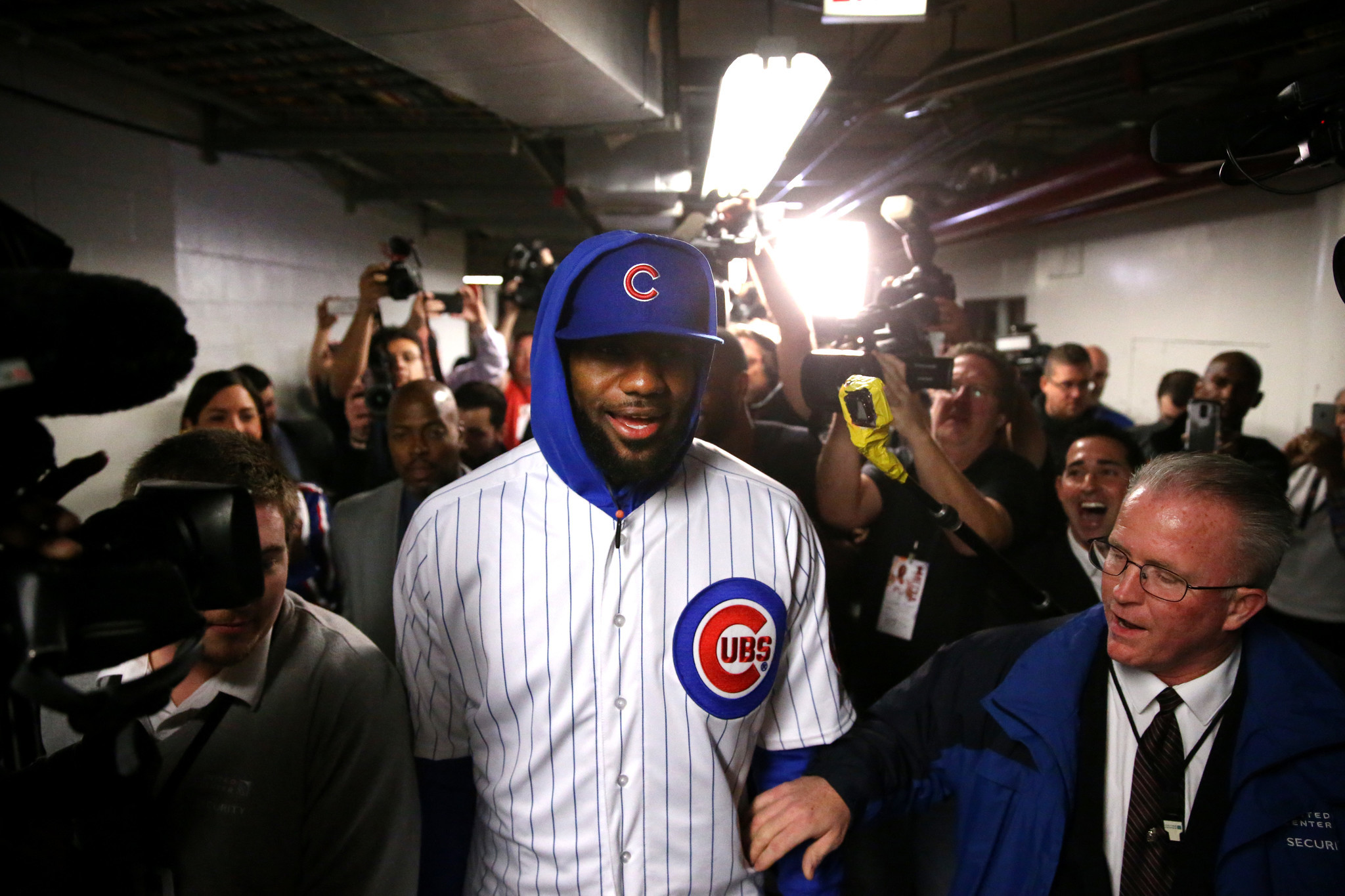 LeBron James gracious in defeat — both on Cubs bet and Cavs loss to