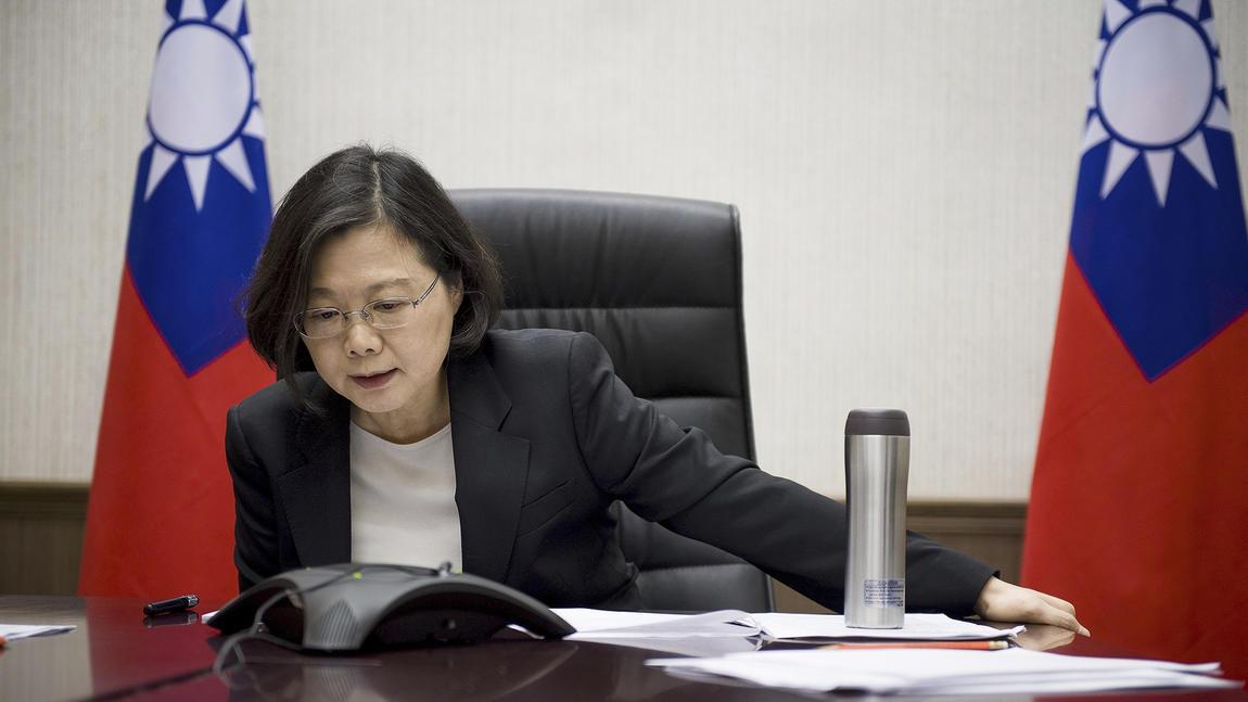 Taiwan's President Tsai Ing-wen (Taiwan's presidential office)
