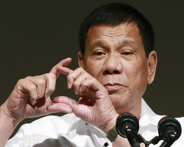 Philippines President Rodrigo Duterte (Eugene Hoshiko/Associated Press)