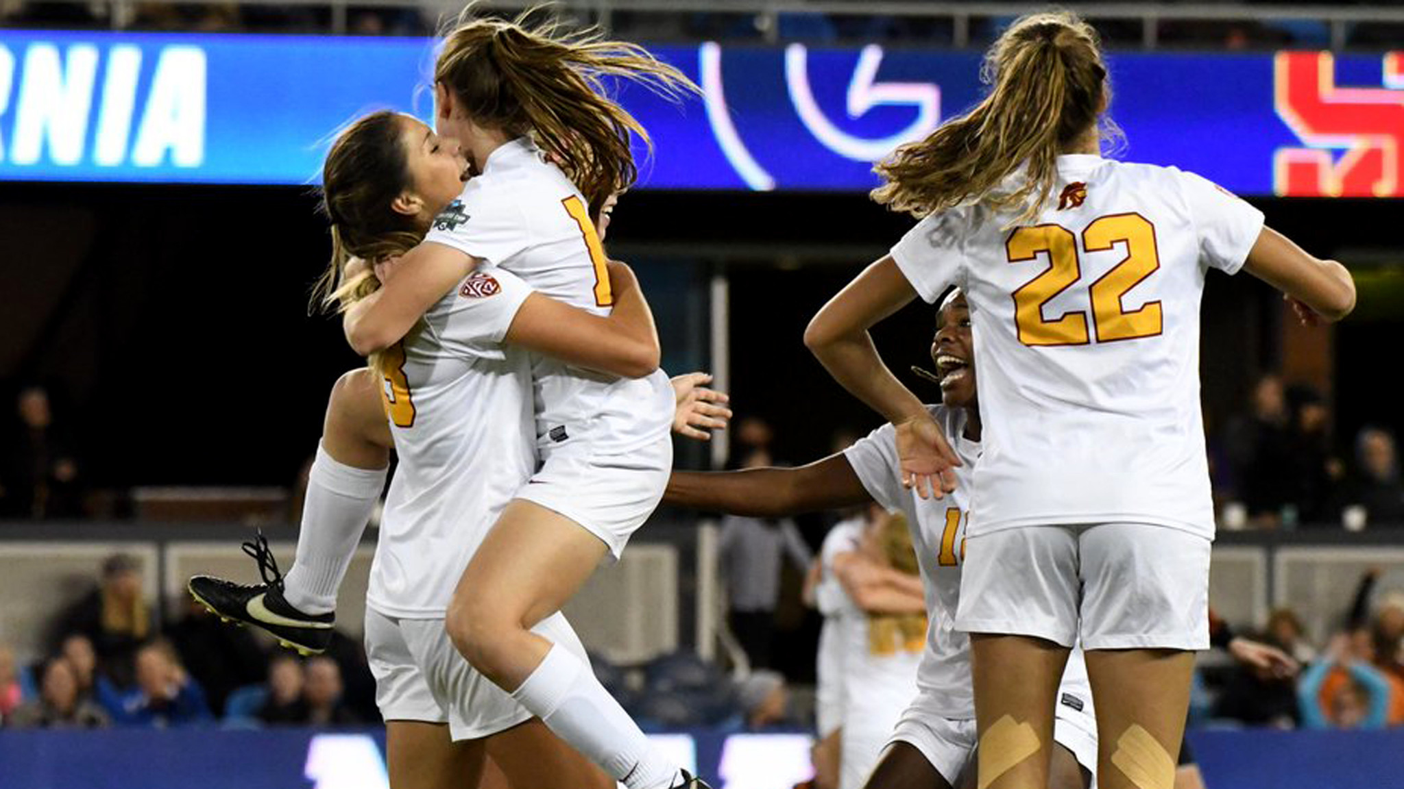 USC advances to College Cup final with 1-0 win over ...