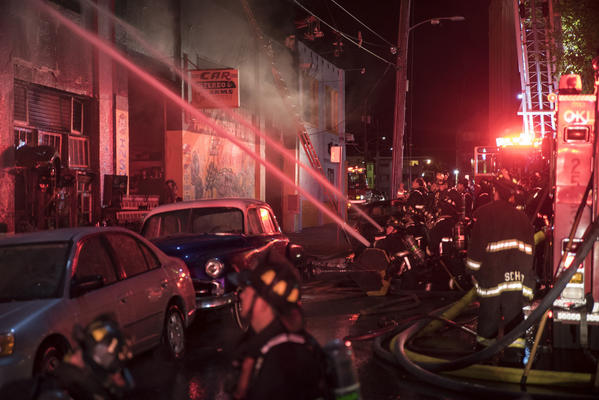 Officials fear up to 40 dead in fire during concert at Oakland warehouse