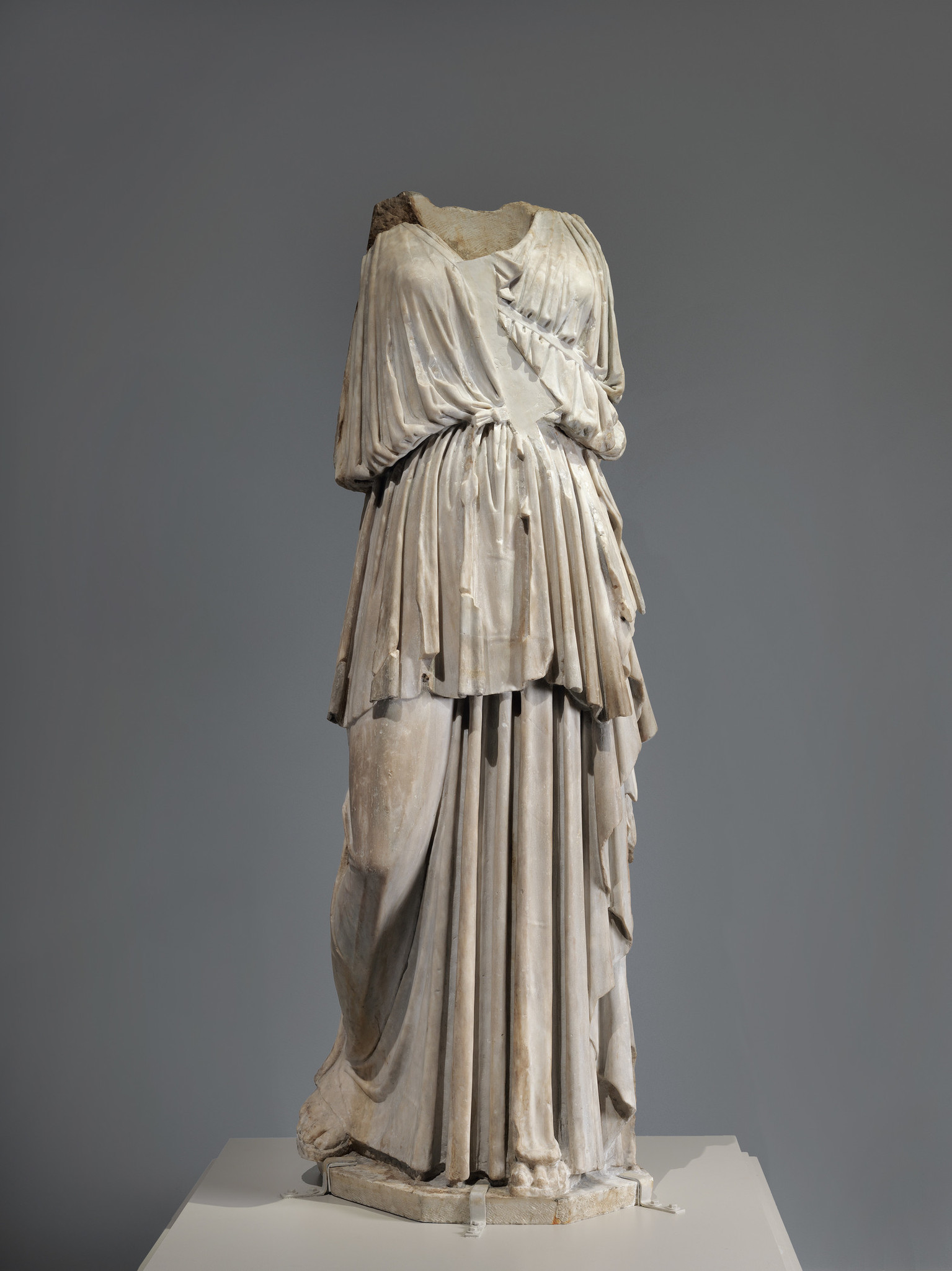 The Lansdowne Artemis, 1st century BC or AD, Roman, marble.