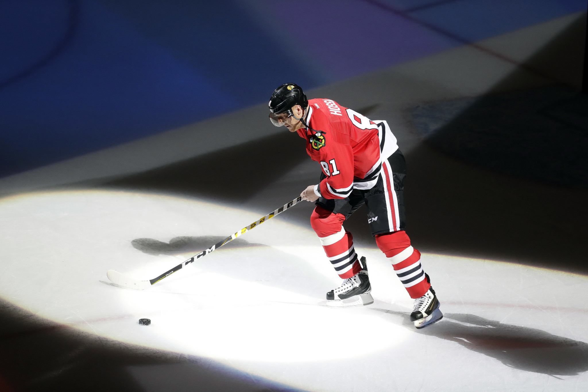 fa659130150 Marian Hossa and Blackhawks — how they came together