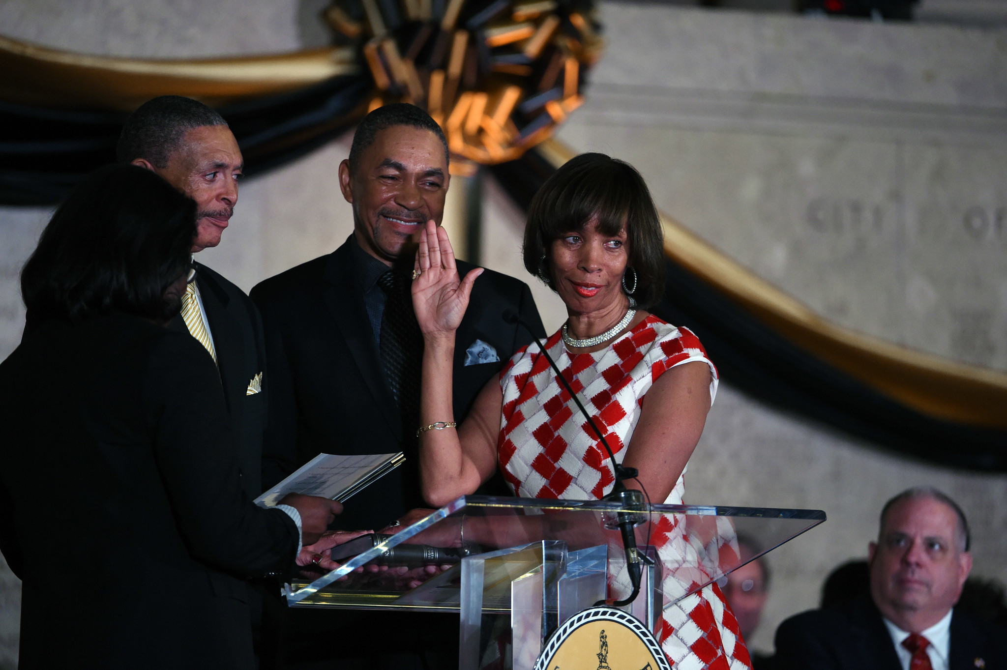 Image result for baltimore mayor catherine pugh inauguration
