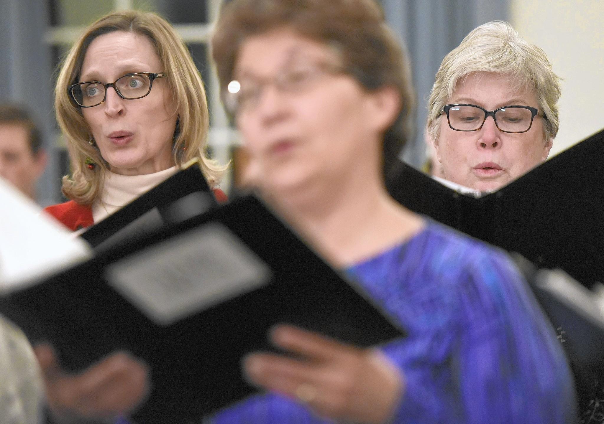 Volunteer singers find joy, sing in the holidays, as members of ...
