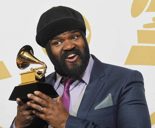 Gregory Porter won the 2014 Grammy for best jazz vocal album, the same category he's up for at the 2017 ceremony. (Allen J. Schaben / Los Angeles Times)