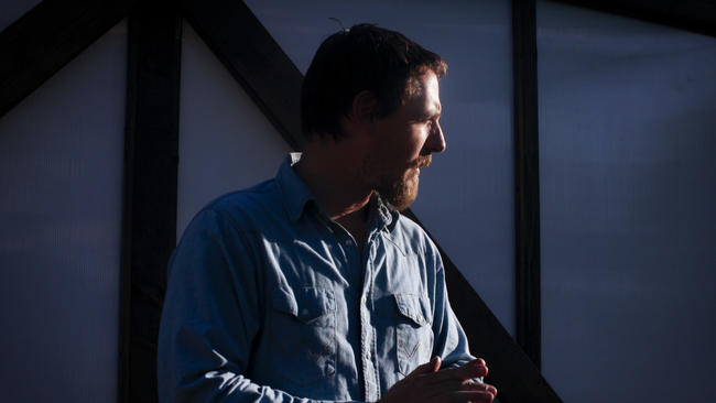 """Sturgill Simpson, shown at the 2015 Stagecoach festival in Indio, received two Grammy Award nominations for his latest album, """"A Sailor's Guide to Earth."""" (Bethany Mollenkof / Los Angeles Times)"""