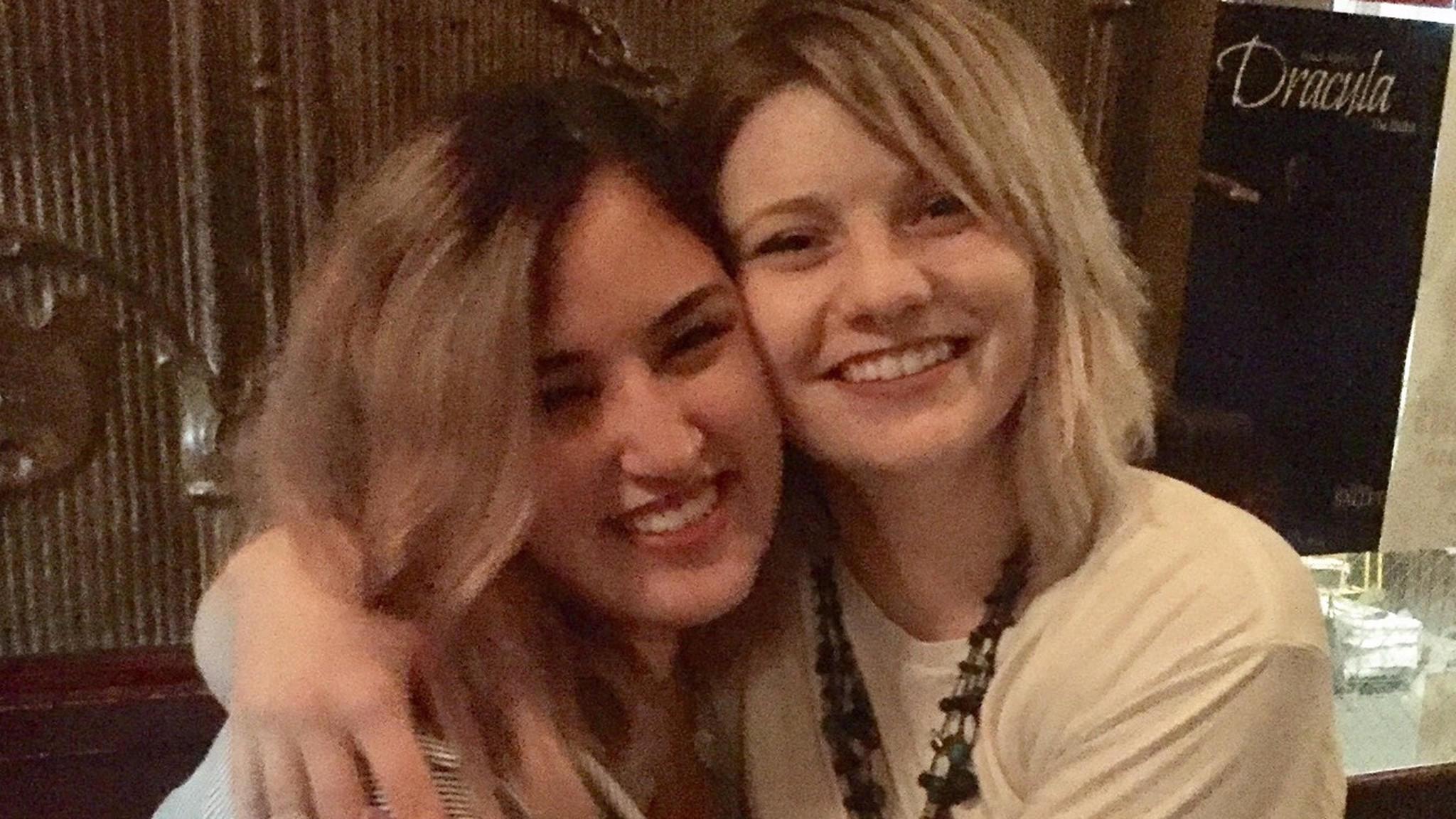 Jennifer Morris, left, and Chloe Studebaker