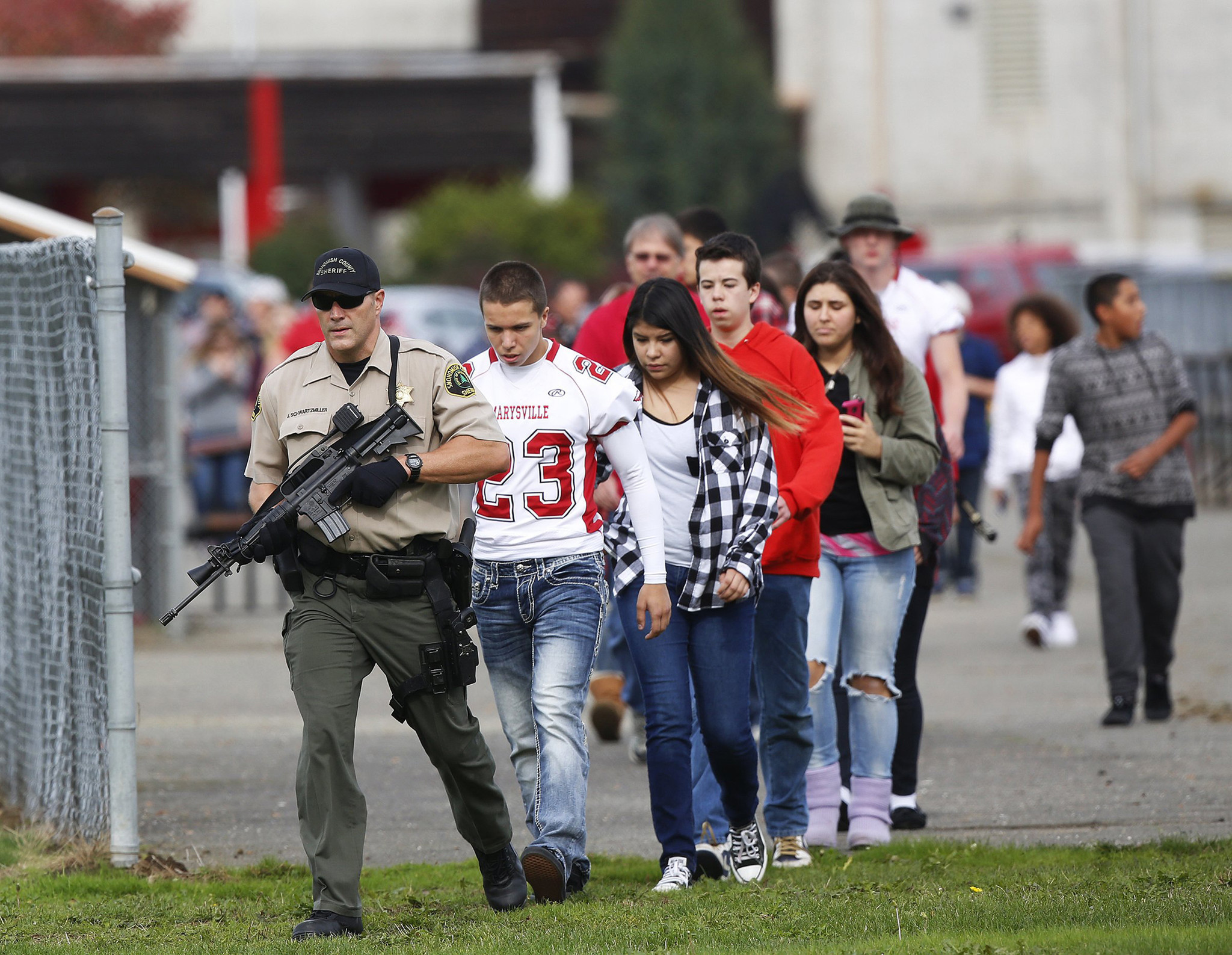 """an analysis of the high school shootings in the usa Perhaps the most notorious school massacre was at columbine high school it  was here, in 1999,  essay on mass school shootings in america - """"that could."""