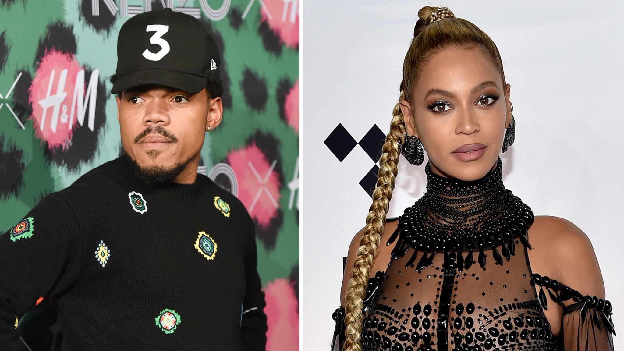 Chance the Rapper and Beyonce (Evan Agostini / Invision)