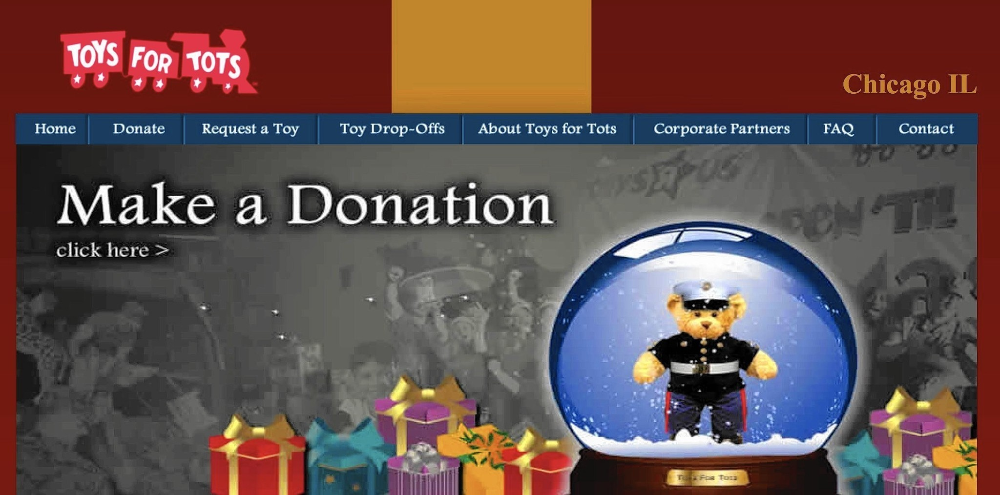 Toys For Tots Chicago : Local toys for tots collection points announced wilmette