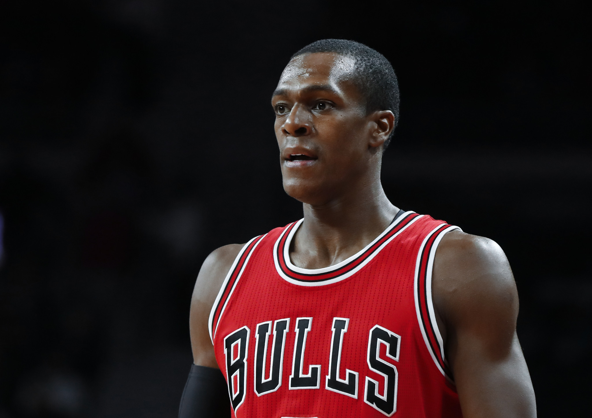 with  who Rajon is comfortable he Rondo remains