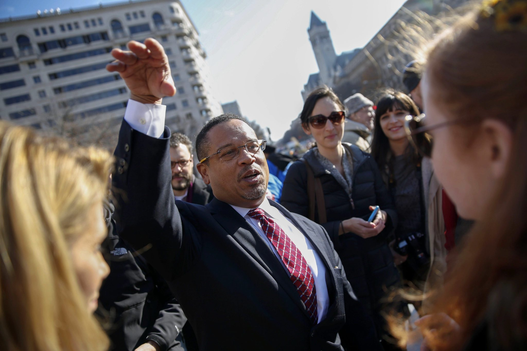 Image result for keith ellison louis farrakhan islam nation