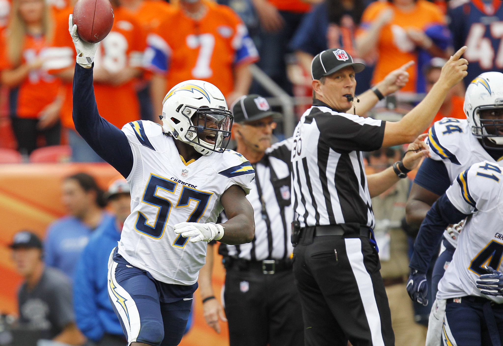 Chargers D Gets Good News On Health Front The San Diego