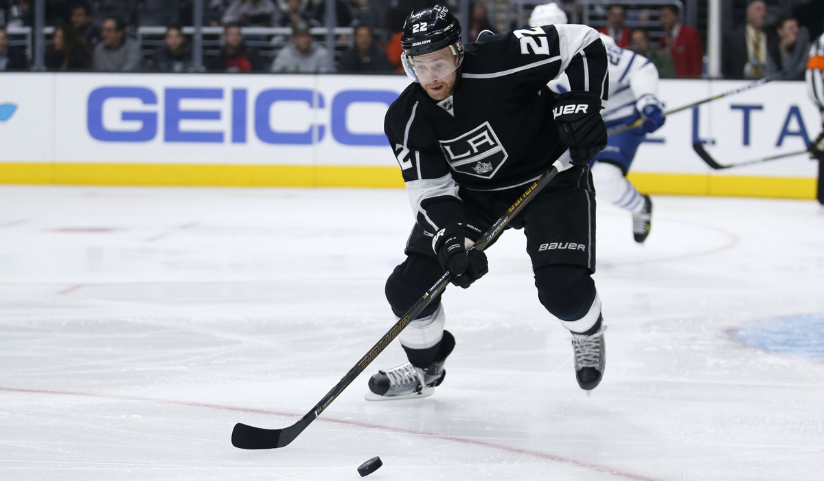 Trevor Lewis goes about helping the Kings without fanfare
