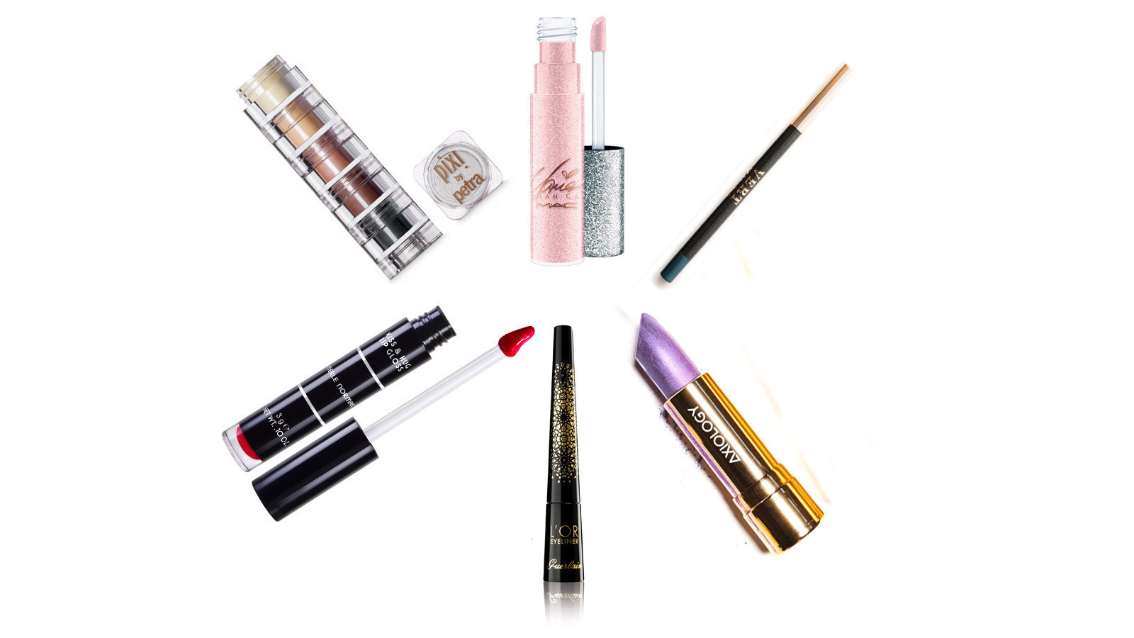 Forget about subtle makeup. For this holiday season, embrace gloss, glitz and shimmer