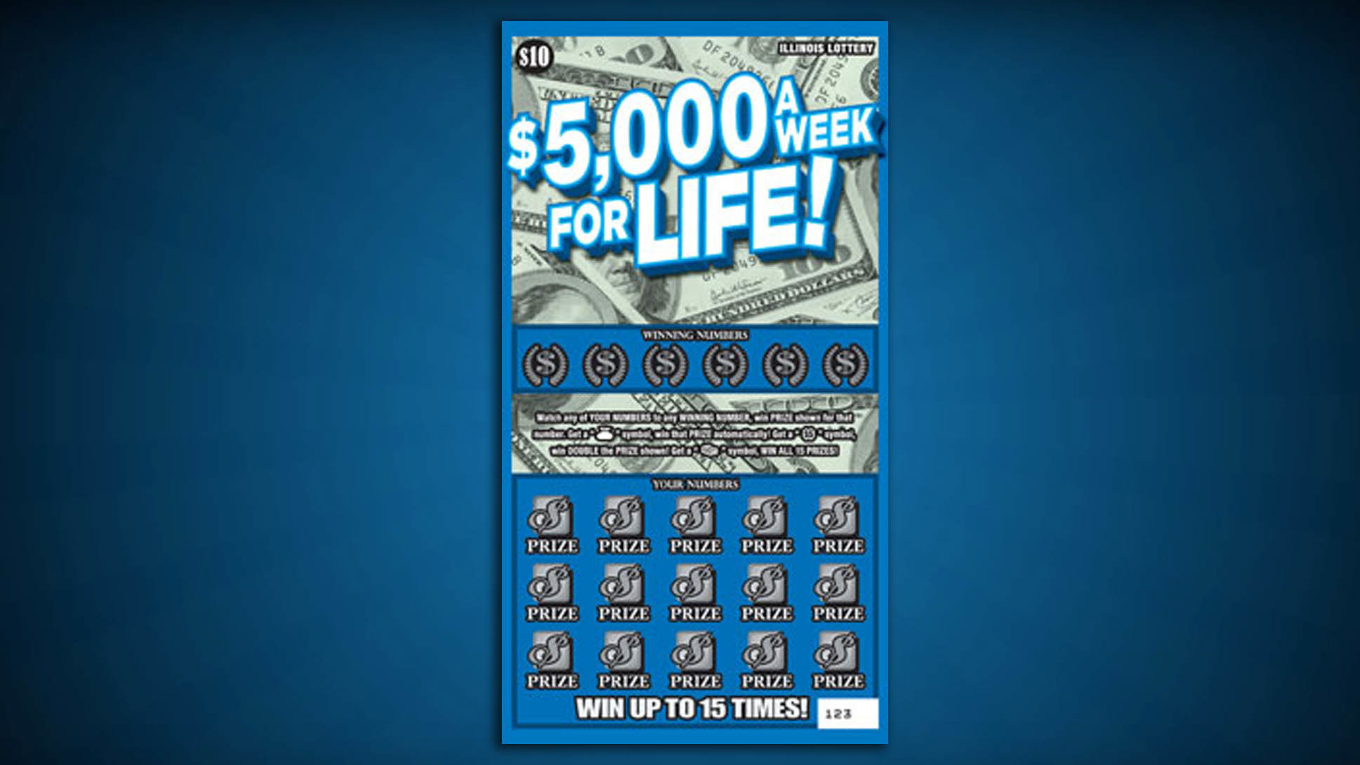 Mass lottery scratch tickets prizes remaining
