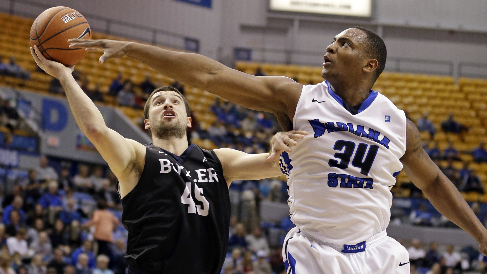 College basketball indiana state upsets no 16 butler colorado bests no 13 xavier la times