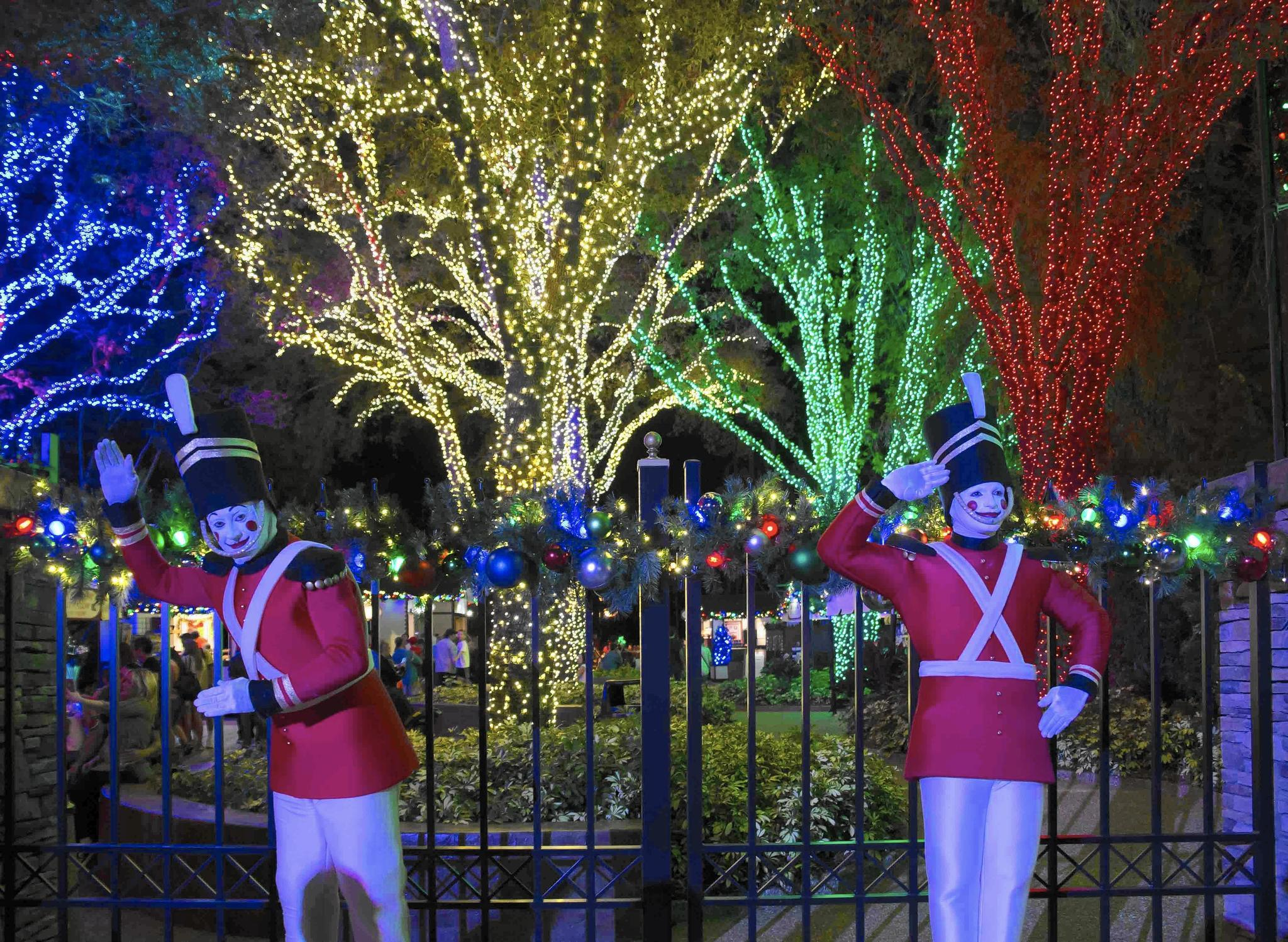 Christmas Town Is Back At Busch Gardens Orlando Sentinel
