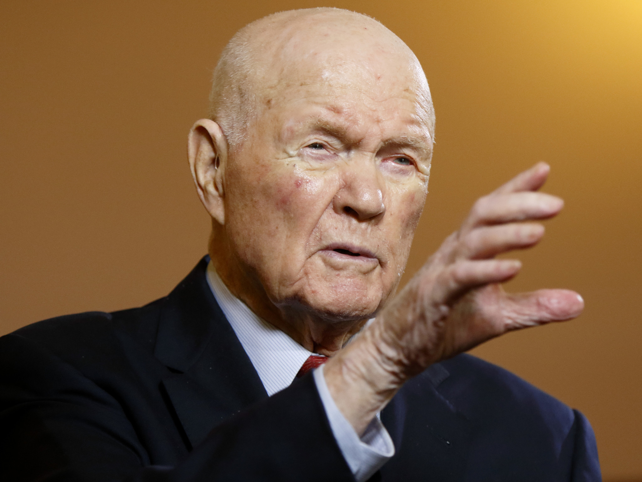 John Glenn dies at 95; hero was first American to orbit Earth