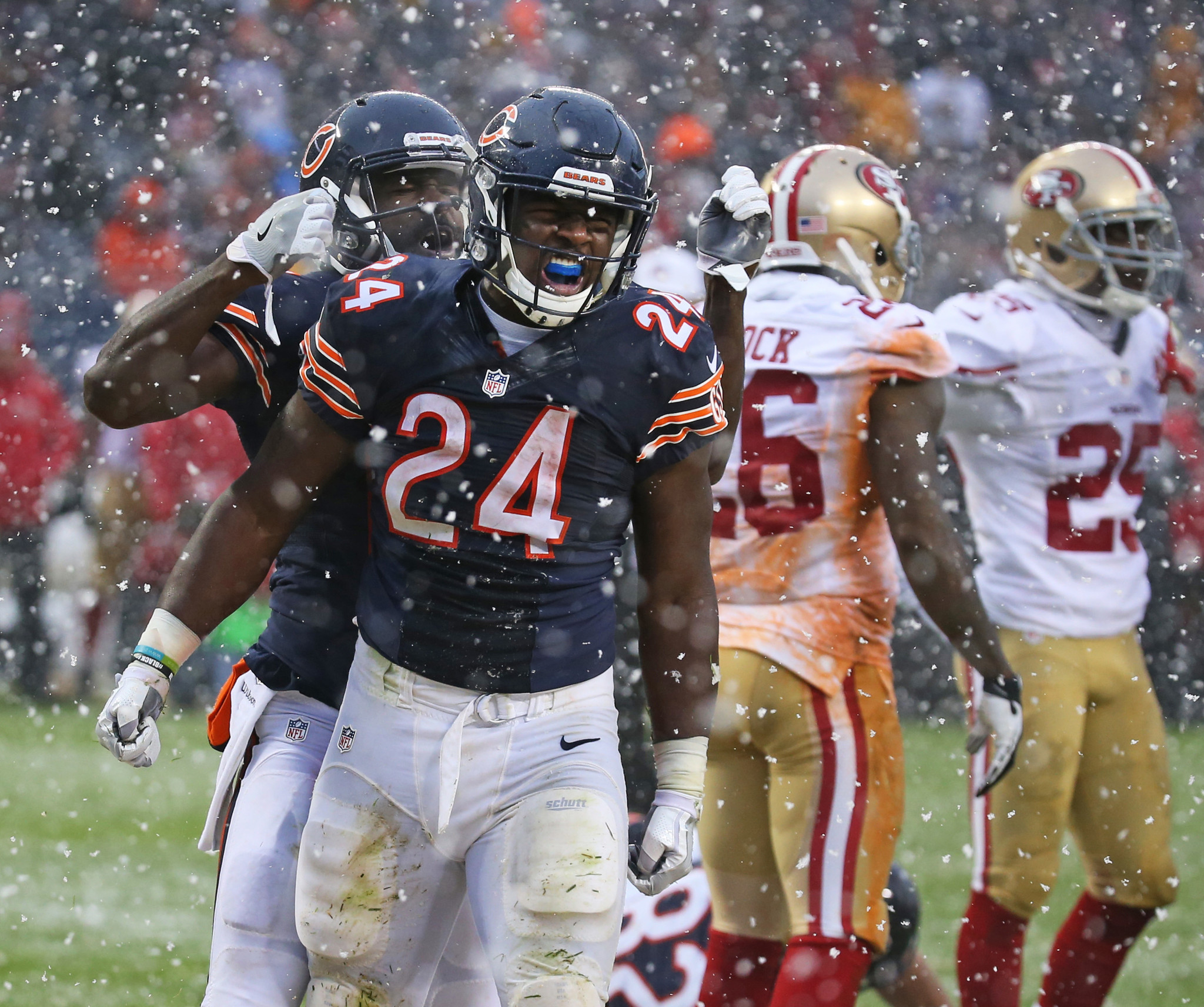 Bears continue to see progress in rookie RB Jordan Howard