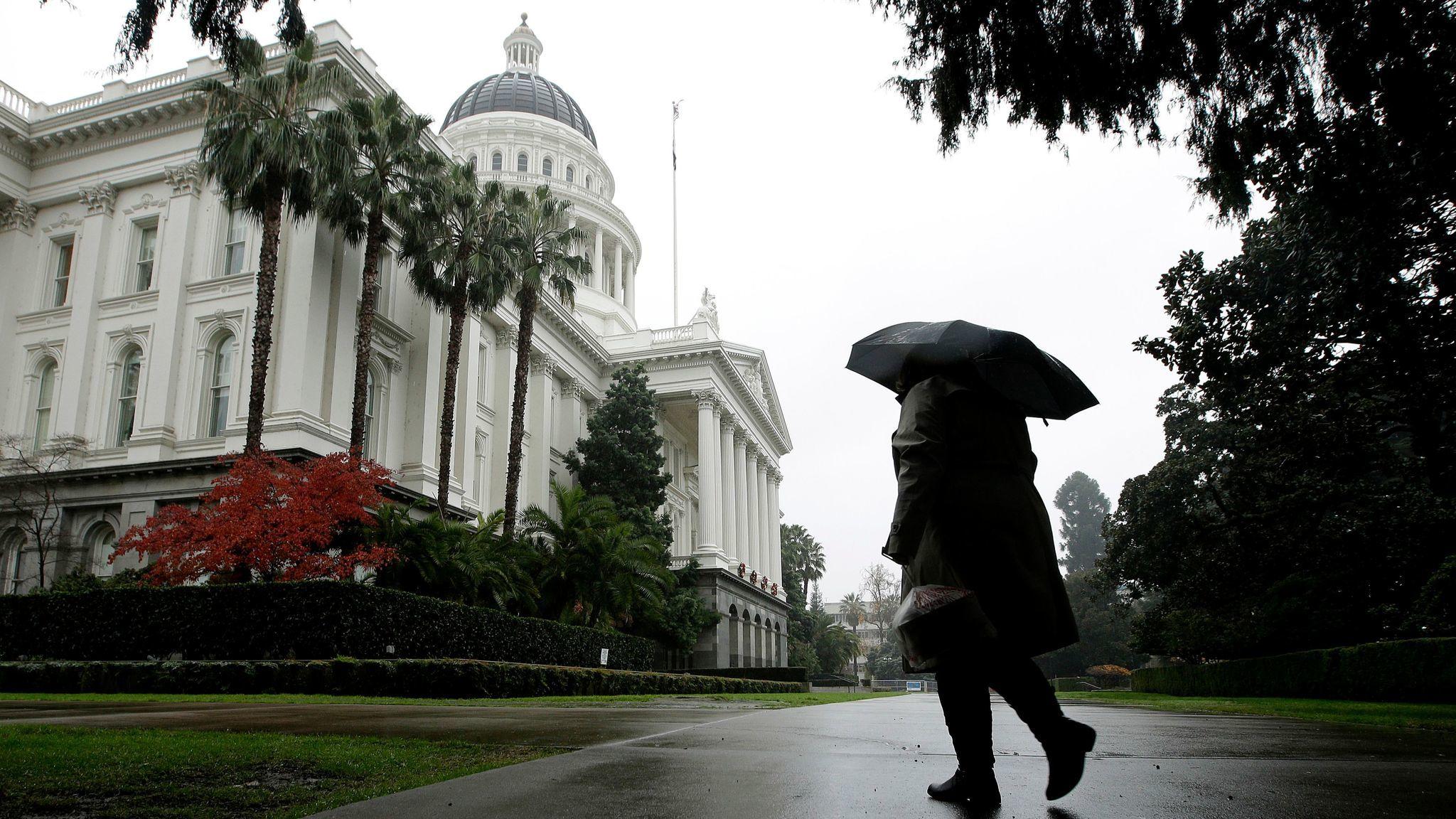 The California Capitol in Sacramento. (Rich Pedroncelli / Associated Press)