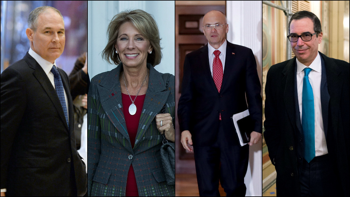 Do Trump's Cabinet picks want to run the government — or ...